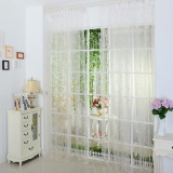 Beli Cinta Sheer Curtain Tulle Window Treatment Voile Drape Valance 1 Panel Fabric Intl Cicil