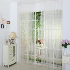 Ulasan Cinta Sheer Curtain Tulle Window Treatment Voile Drape Valance 1 Panel Fabric Intl