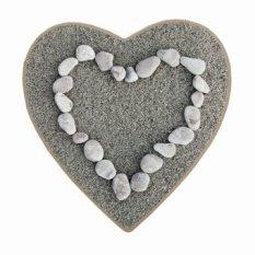 Love Stone Print Custom Keset Non-slip Lantai Mat Pad Room Karpet Dekorasi Rumah Penyerapan Air Mat Pabrik Grosir Ritel-Intl
