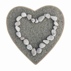 Love Stone Print Custom Keset Non-slip Lantai Mat Pad Ruang Carpethome Dekorasi Penyerapan Air Mat Pabrik Grosir Ritel -Intl