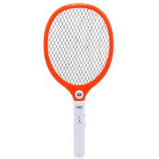 Beli Luby Raket Nyamuk Rechargeable Orange Pake Kartu Kredit