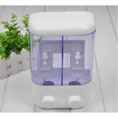 Lucky Dispenser Sabun 2 Tabung T02 - White