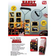 Lucky Handy Grill Brush Sikat Pembersih Alat Panggang Bbq 1 Box Isi 2 Pcs Lucky Diskon 50