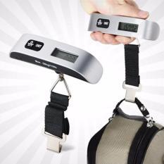 [DARI JAKARTA] Luggage Scale / Timbangan Koper Max 50kg Portable Ringkas Ringan Travel Parcel LS518
