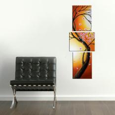 Lukisanku Lukisan Vertikal Bunga - V31-1S - Lukisan Tangan