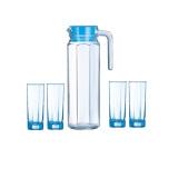 Jual Luminarc Beverage Set Octime 5Pc Blue 1Set Online Indonesia