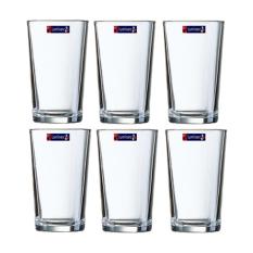 Spesifikasi Luminarc Coniques Gelas Kaca 280 Ml 6 Pcs Online