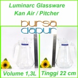 Harga Luminarc Kan Air Dgn Tutup Pitcher 1 3 L Teko Air Murah