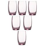 Spesifikasi Luminarc Salto Gelas Minum 350 Ml Pink 6 Buah Terbaru