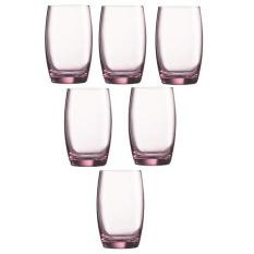 Beli Luminarc Salto Gelas Minum 350 Ml Pink 6 Buah Terbaru