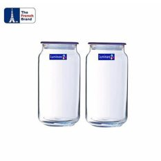 Harga Luminarc Toples Rondo Jar Ice Blue 1Ltr 2Pcs Biru Luminarc Asli