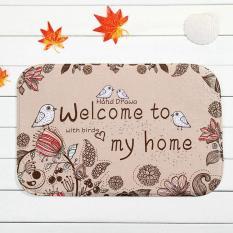 LumiParty Indoor Non Slip Tikar Rumah Dekorasi Kamar Tidur 40*60 Cm Warna: Selamat Datang Di Rumah Pengelola blog