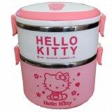 Beli Lunch Box Karakter Hello Kitty 2 Susun Rantang Kotak Makan Bekal Cicilan