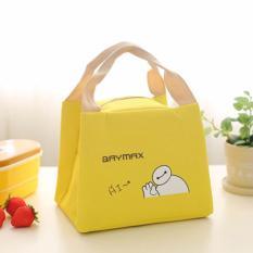 Harga Lunch Cooler Bag Kotak Penyimpanan Makanan Tote Thermal Isolasi Portable Murah