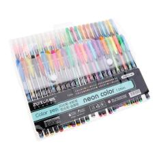 Spesifikasi Luxury 48Pcs Gel Pen Set Refills Metallic Pastel Glitter Sketch Drawing Color Marker Intl