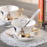 Spesifikasi Luxury Bone Logbook Kopi Mug Advanced Porcelain Tea Cup And Saucer Set 200 Ml Baki Tumbler Untuk Hadiah Cafe Intl Beserta Harganya