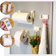 Everso Stand Holder Gantungan Tissue Gulung Dinding Toilet Kamar Source · Lynx Gantungan Tissue Roll Holder Magnetic Plastic Paper Roll Hanger 2 pcs