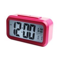 LZ Led Digital Snooze Alarm Clock Light Control Backlighttime+Calendar Hp - intl