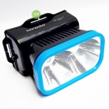 Beli M2000 Lampu Senter Kepala 2In1 Led Flashlight 3 Watt Rechargeable Mr 702C Ht Hitam Biru M2000 Online