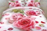 Jual Madamel Set Sprei Katun Jepang Pink Rose Di Bawah Harga