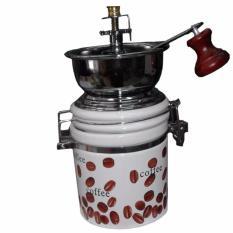 Review Magic Home Coffee Grinder Manual Ceramic Bulat High Quality Magic Home Di Dki Jakarta