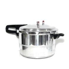 Promo Toko Magic Home Panci Presto 12 Liter Full Stainless Steel Silver