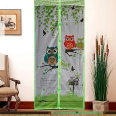 Jala Ajaib Tirai Magnet Anti Nyamuk Motif OWL-Tirai Pintu Magnet