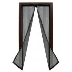Spesifikasi Magic Mesh Tirai Pintu Magnet Hitam Beserta Harganya