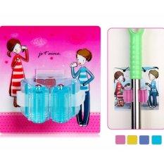 Magic Mop Holder Gantungan Sapu Tempel Broom Hanger Jepit Clamp - 1 Pcs