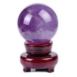 Jual Magic Natural Amethyst Crystal Sphere Ball Intl Oem Original