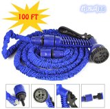 Jual Magic X Hose Auto Expandable 30 M Selang Air Fleksibel Biru Lengkap