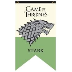 MagicWorldmall Ready Stock Game Of Thrones Hanging Banner Bendera Stark Tarly Lannister Bolton Dekorasi Rumah-Internasional