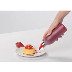 MagiDeal 450ml Squeeze Bottle Ketchup Mustard Sauce Vinegar Honey Dispenser Red - intl