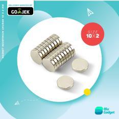 Magnet Neodymium 10x2mm (50 pcs)