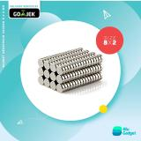 Beli Magnet Neodymium 8X2Mm 100 Pcs Kredit Indonesia