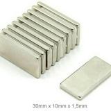 Jual 1 Pack Magnet Neodymium Kotak 30Mm Satu Set
