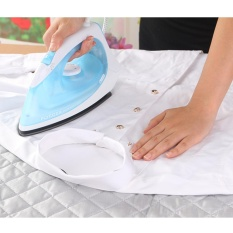 Magnetic Ironing Mat Laundry Pad Washer Dryer Cover Board Tahan Panas Selimut-Intl