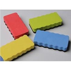 Papan Putih Magnetik Papan Tulis Dry Pembersih Melap Penghapus (Warna Acak) 1 Pack-Intl