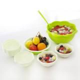 Toko Magnolia Serving Set Bowl Mangkuk Buah Atau Sayur Set Of 9 Hijau Online