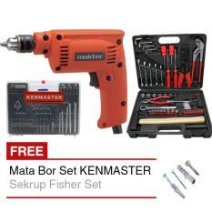 Harga Maktec Mt 60 Bor Listrik Mata Bor Set Kenmaster Tool Kit Sekrup Satu Set