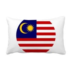 Malaysia National Flag Asian Symbol Throw Lumbar Pillow Insert Cushion Cover Home Sofa Decor Gift - intl