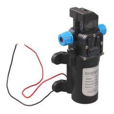 M&C DC 12V 60W High Pressure Micro Diaphragm Water Pump Automatic Switch 5L/min (Black) - intl