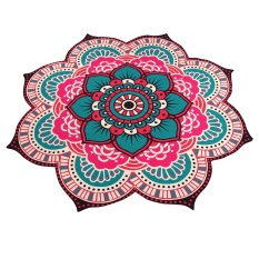 Kualitas Mandala Towel Yoga Mat Bohemian Beach Pool Home Table Cloth Yoga Mat Intl Not Specified