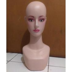 Patung Manekin Kepala Display Kerudung Jilbab Hijab Topi