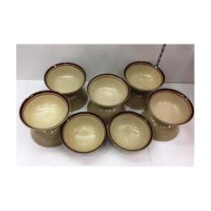 Harga Mangkok Rrt Bakso 6 5 List Coklat Toyoki Lusin