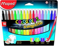 Spesifikasi Maped Felt Pen Set 18 Baru