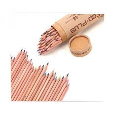 MARCO 48 Warna Pensil Pensil Set Bebas Racun Minyak Dasar dengan Pensil Rautan Baru-Intl