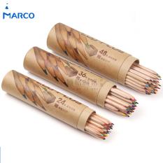 Harga Marco Pensil Warna Graffiti Dengan Rautan Pensil 48 Warna Multi Color Marco Asli
