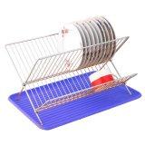 Harga Marco Rak Piring X Folding W Plastic Tray Dish Drainer Biru Yang Murah Dan Bagus