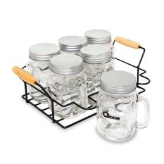 Review Mason Mug Jar Oxone Ox 036 With Rack Di Jawa Barat